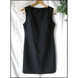 Talbots Wool Blend Black Dress 6P